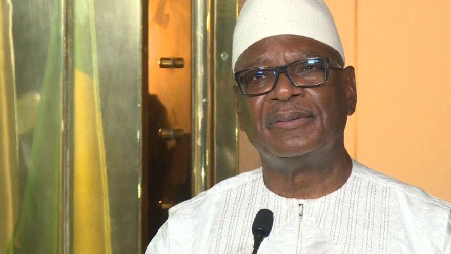 El presidente saliente de Mali gana las elecciones