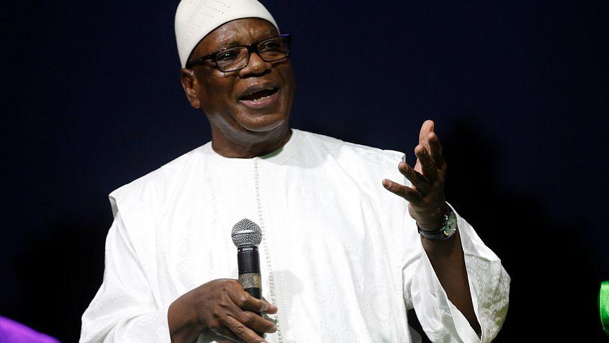 Mali : le président Ibrahim Boubacar Keïta réélu