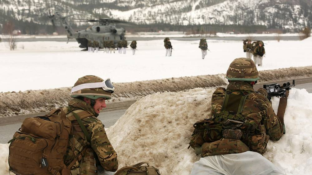 Russia hits out as US doubles number of marines in Norway