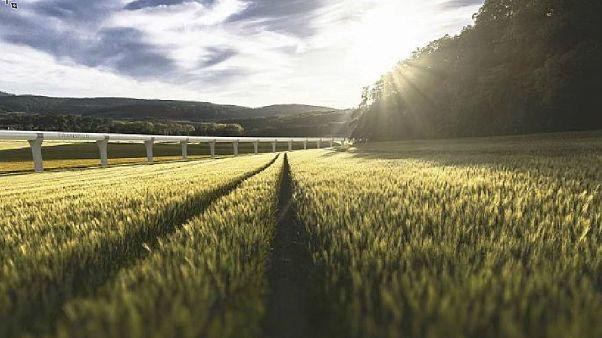 Hyperloop pioneers choose rural France to test high-speed rail travel of the future