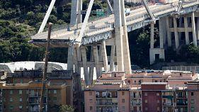 A Genova fra gli sfollati