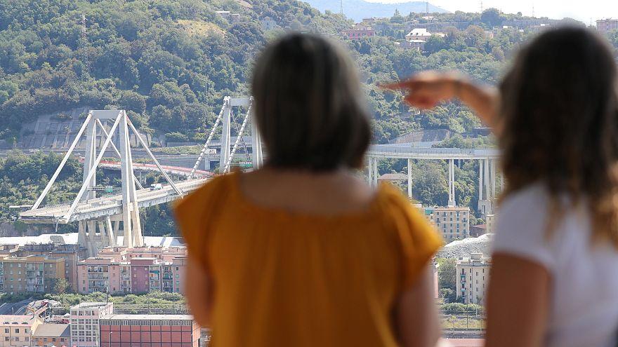 Genova: összeomolhat a Morandi-rom, százakat evakuálnak