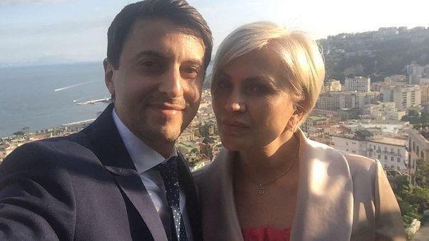 Eugeniu Babin e Natasha Yelina