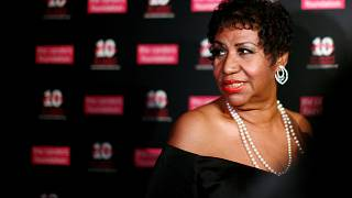 Aretha Franklin in New York on May 3, 2011.