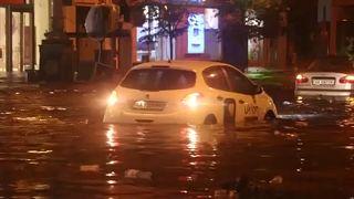 Καταστροφικές πλημμύρες σε Ρουμανία και Ουκρανία