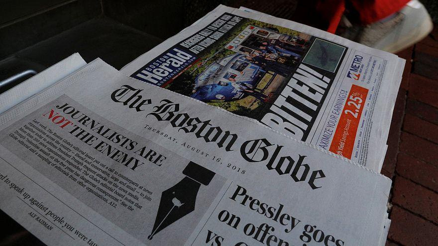 La prensa de EEUU se une contra los ataques de Trump