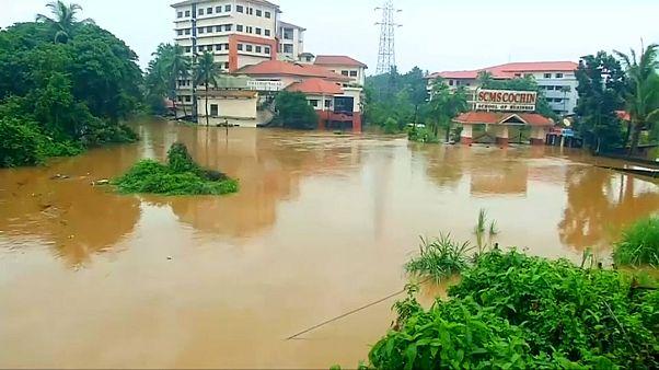 El monzón arrasa el sur de la India