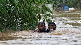 Katasztrofális a helyzet Indiában az áradások miatt