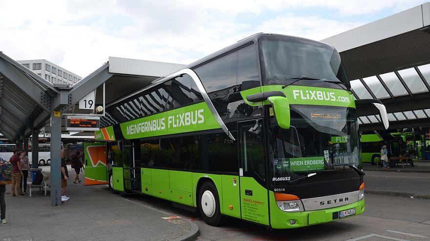 Setra S 431 DT de la compagnie Flixbus, à Berlin Messe (ZOB)