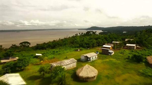 Összefogtak az őslakosok, hogy megmentsék az Amazonas-medencét