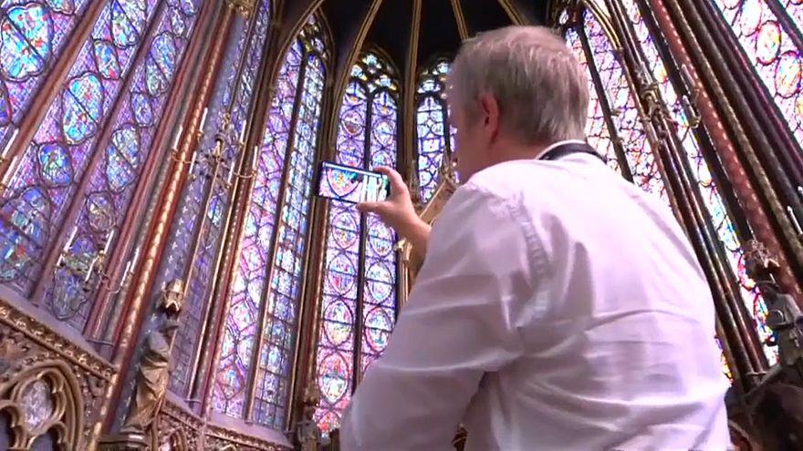 Un application pour les vitraux de la Sainte-Chapelle