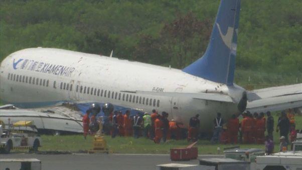 Aterrizajes de emergencia en Creta, Perú y Manila