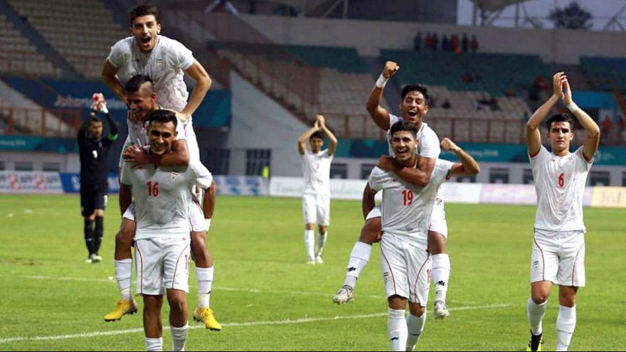 برتری قاطع تیم فوتبال امید ایران مقابل کره شمالی