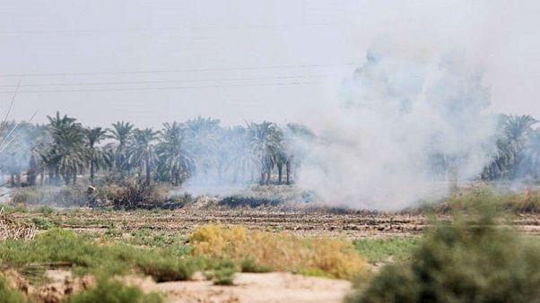 آتشسوزی هورالعظیم ۲۵۰ نفر را راهی بیمارستان کرد