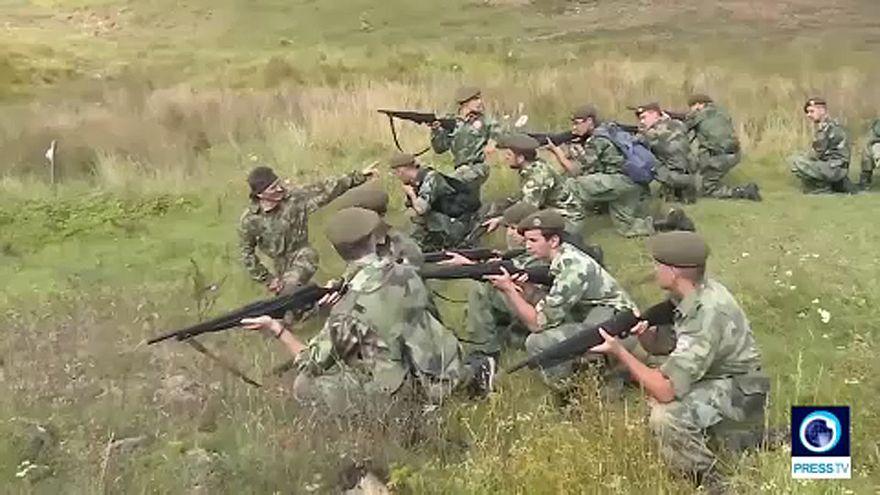 Katonai tábort zárattak be Szerbiában