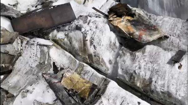 Άλπεις: Ο καύσωνας αποκάλυψε συντρίμμια από Ντακότα