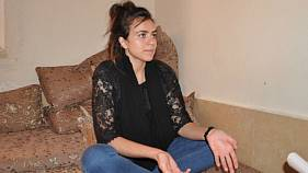 Ashwaq Haji, jeune Yézidie d'Irak, persécutée par Daech en Allemagne.