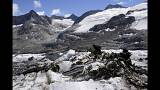 Melting glacier reveals WWII plane wreckage