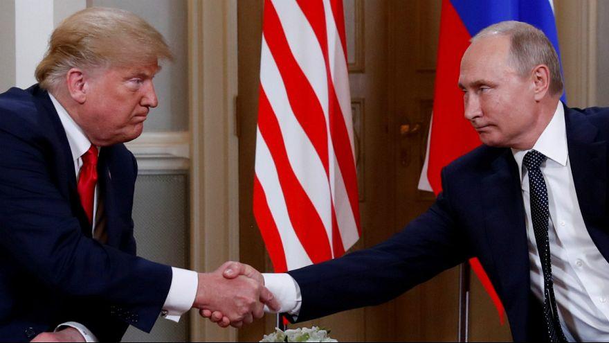 ولادمیر پوتین و دونالد ترامپ