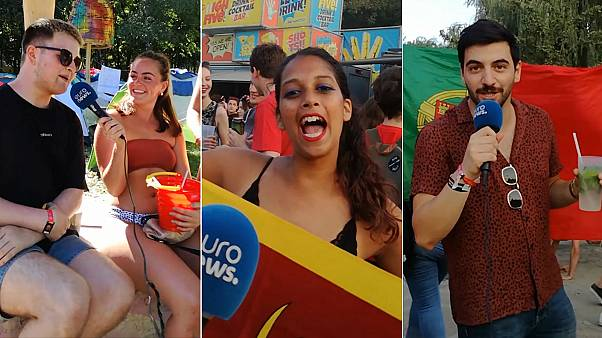 Watch: Meet the revellers at Budapest's Sziget Festival