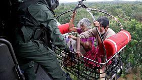 Au moins 320 morts au Kerala dans les pluies de mousson