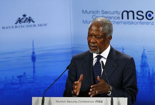 Former UN Secretary-General Kofi Annan dies aged 80
