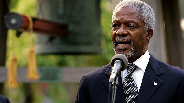Kofi Annan morre aos 80 anos