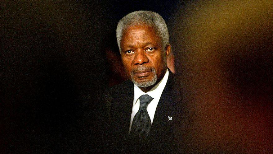 Elhunyt Kofi Annan korábbi ENSZ-főtitkár