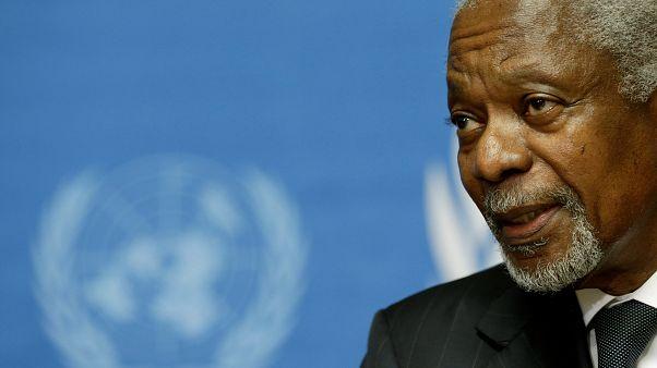 Kofi Annan im Jahr 2012 in Genf