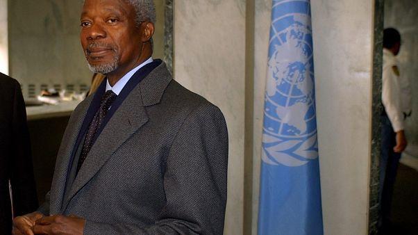 Πέθανε ο πρώην γενικός γραμματέας του ΟΗΕ, Κόφι Ανάν, σε ηλικία 80 ετών