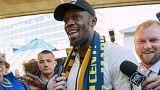 Usain Bolt Sydney'e vardı, futbol kariyeri başlıyor
