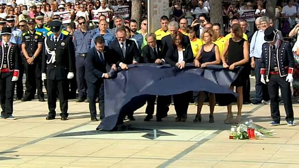Catalonian town remembers victims of terror attacks one year on