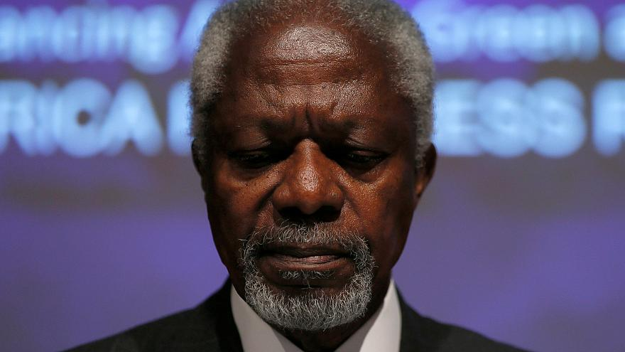 Syria, Rwanda and other failed conflicts threaten to overshadow Annan's legacy