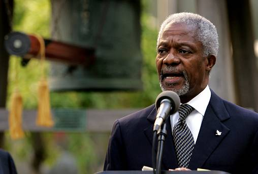 World pays tribute to former UN chief Kofi Annan who has died at the age of 80