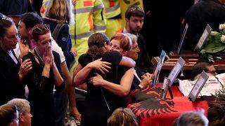 Italien nimmt offiziell Abschied von den Toten des Brückeneinsturzes