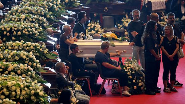 Genova, i funerali