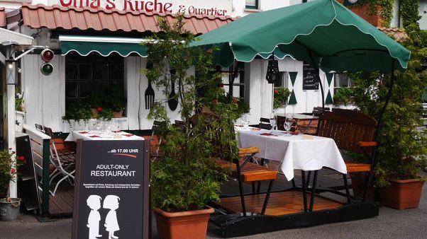 Almanya'da lokantadan ilginç uygulama: Saat 17'den sonra çocuklar giremez