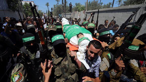 غزة تشيّع جثمان كريم أبو فطاير إلى مثواه الأخير