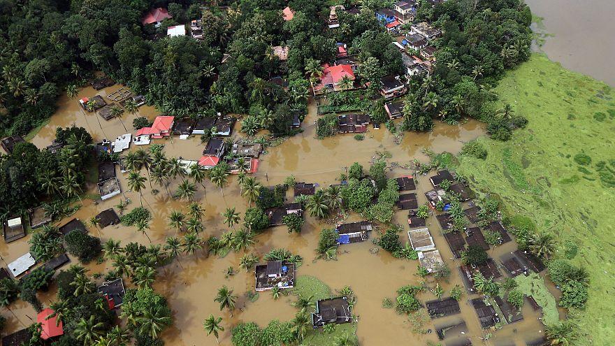 Le bilan des inondations au Kerala s'alourdit encore