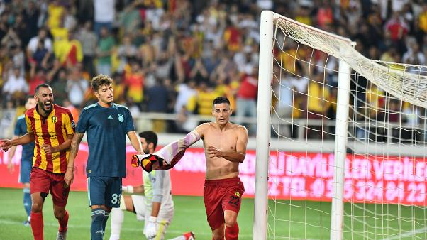 Fenerbahçe'ye bir darbe de Evkur Yeni Malatyaspor'dan: 1-0