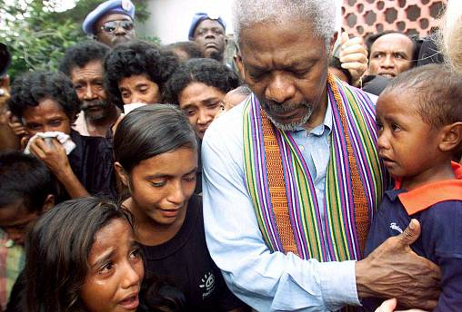 Kofi Annan: tributes pour in for 'a man of peace and champion of rights'