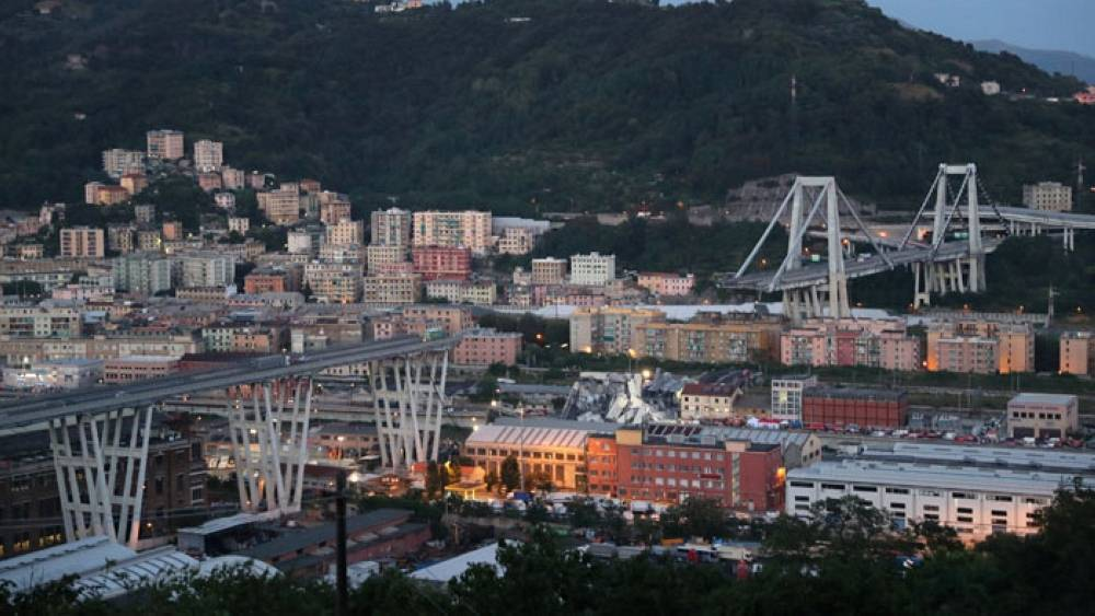 Search operation ends in Genoa as government plans to 'make public structures safe'