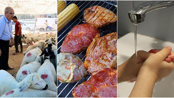 Kurban Bayramı öncesi bu kurallara dikkat: Pişmemiş etleri ayrı tabağa koyun, ellerinizi yıkayın