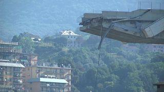 43 قتيلا في انهيار جسر جنوة وخطة حكومية لإعادة تهيئة البنى التحتية