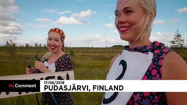 Mocsársízés Finnországban