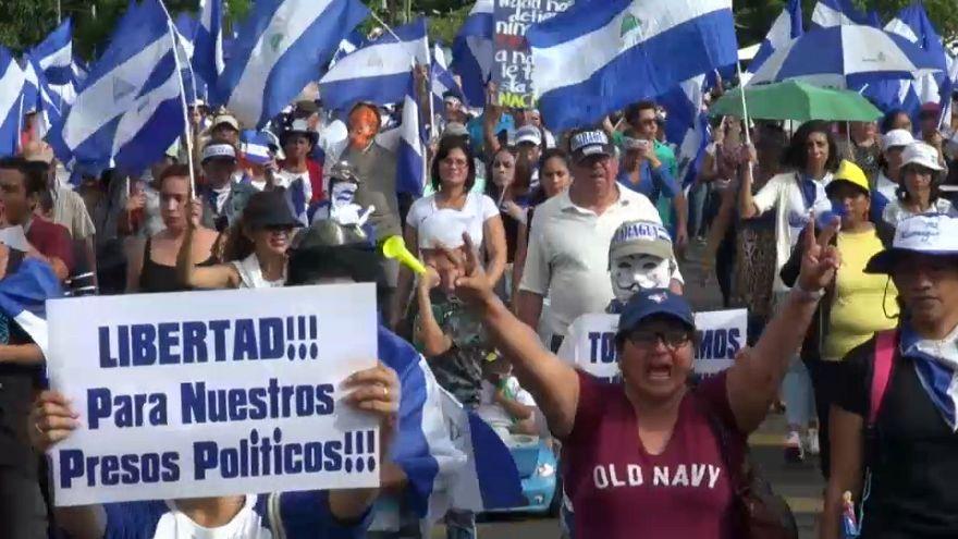 Cuatro meses después, Nicaragua sigue protestando contra Ortega