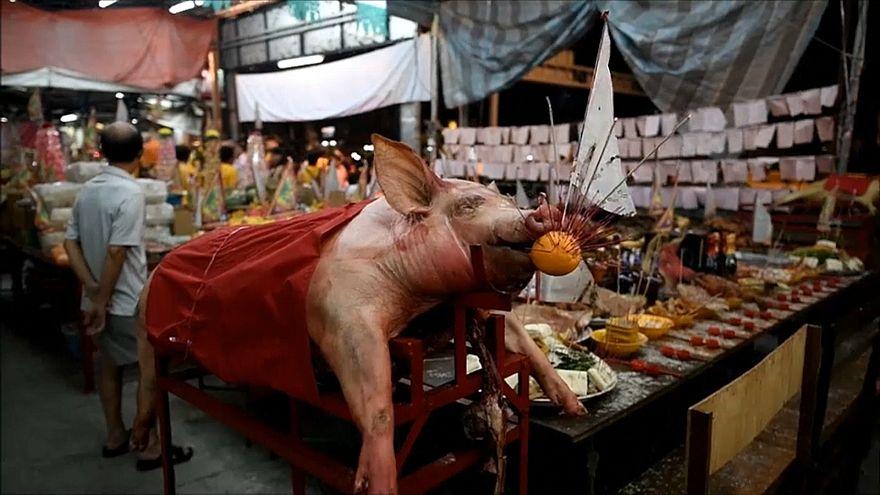 Malesia: il festival degli spiriti affamati