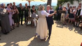 ویدئوی رقص پوتین در عروسی وزیر اتریشی منتشر شد
