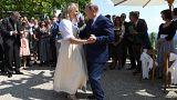 Sokan kritizálták Putyin táncát az osztrák külügyi lagzin