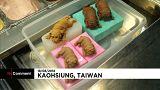 شاهد: البوظة في تايوان تحتفي بالجراء